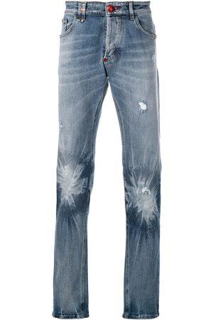 Philipp Plein Faded effect jeans
