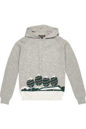 Loro Piana Snowy City hooded cashmere sweater