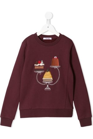 Familiar Cake embroidered sweatshirt