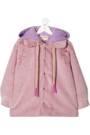 Natasha Zinko Faux-fur hooded coat
