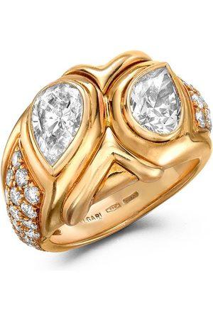 Bvlgari 1961 18kt yellow Present Day Bvlgari diamond ring