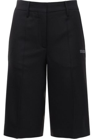 OFF-WHITE Formal Twill Bermuda Shorts