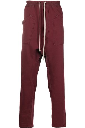 Rick Owens Drop-crotch track trousers