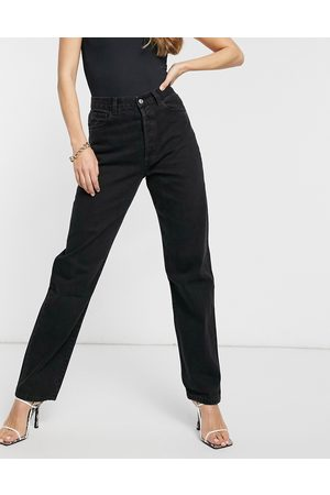 Miss Sixty 90s slouchy high rise mom jeans in black