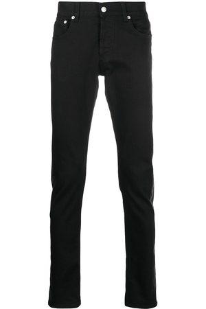 Alexander McQueen Contrast-panel jeans