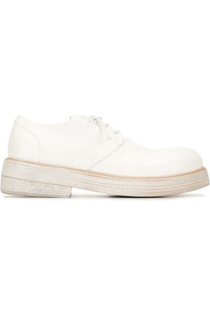 MARSÈLL Lace-up leather Oxford shoes