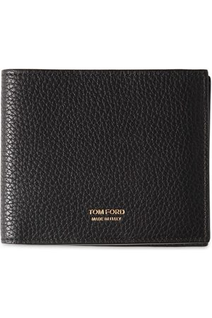 Tom Ford Heren Portemonnees - T Line Classic Leather Bifold Wallet