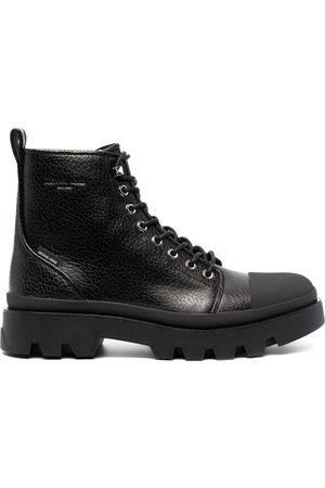 Michael Kors Side zip combat boots