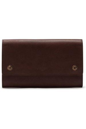 Dolce & Gabbana Logo-embossed leather belt bag