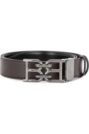Bally Logo buckle leather belt