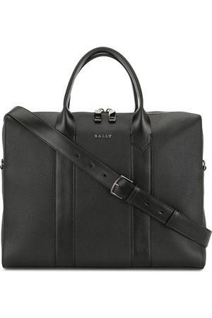 Bally Elter leather laptop bag