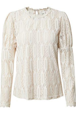 Cream Shirt 'Vivi