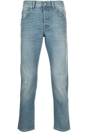 Gucci Eco-bleached tapered jeans