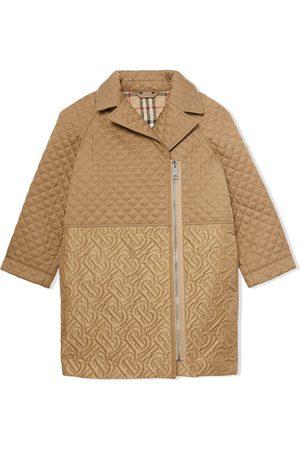 Burberry Monogram quilted coat