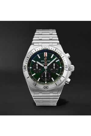 Breitling Chronomat B01 Bentley Edition Automatic Chronograph 42mm Stainless Steel Watch, Ref. No. AB01343A1L1A1