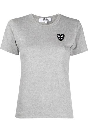 Comme des Garçons Logo-embroidered short-sleeved t-shirt