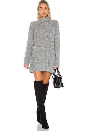 L'Academie Sable Sweater Dress in