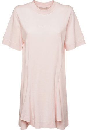 Stella McCartney Logo Organic Cotton Jersey Dress