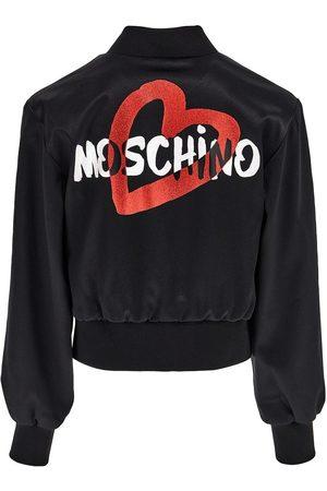 Moschino Logo Print Tech Jacket