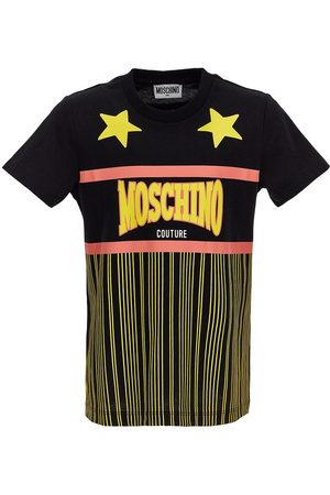 Moschino Printed Cotton Jersey T-shirt