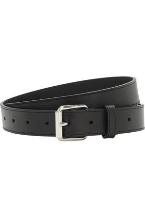 Comme des Garçons 3cm Classic Leather Belt