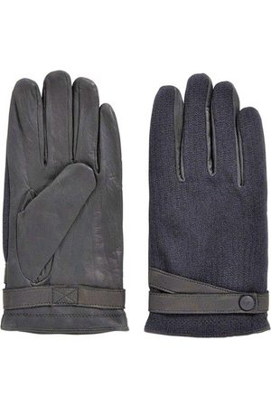 HUGO BOSS Gloves with sections in contrasting fabric Gossling 50374390