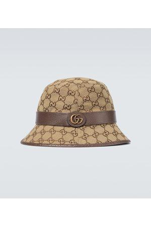 Gucci GG canvas fedora hat