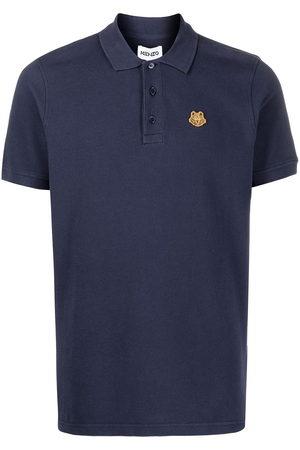 Kenzo Tiger-embroidered polo shirt