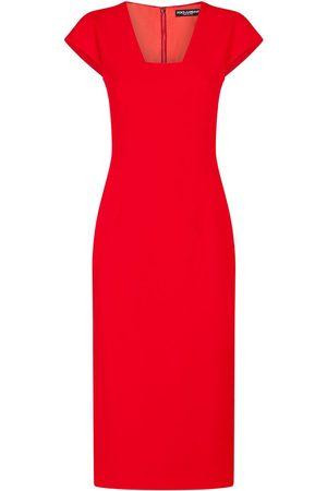 Dolce & Gabbana Cady fabric midi dress