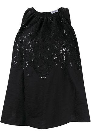 Brunello Cucinelli Sleeveless sequin blouse