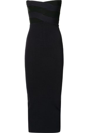 DION LEE Strapless midi dress