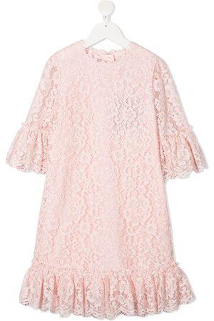 Dolce & Gabbana Lace ruffle-trim dress