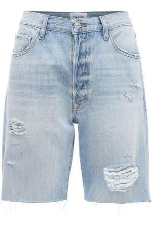 Frame Le Slouch Bermuda Cutoff Short Shorts