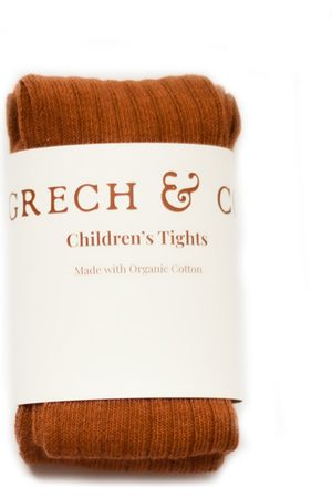 Grech and Co Meisjes Leggings - Leggings Childrens Tights Organic Cotton