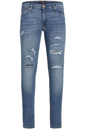 Jack & Jones Liam Original Am 602 Sps Skinny Jeans Heren Blauw