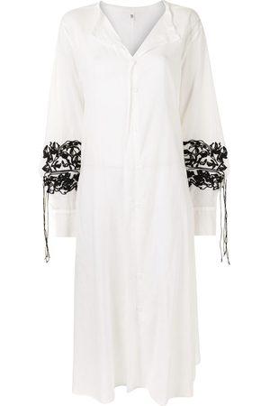 Y'S Oversized draped maxi dress