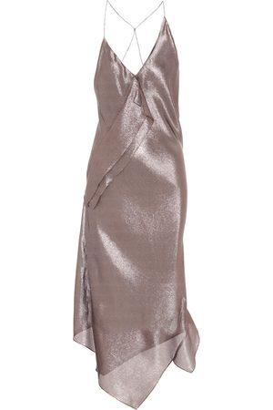 Roland Mouret Exclusive to Mytheresa – Jimboy silk-blend asymmetric dress