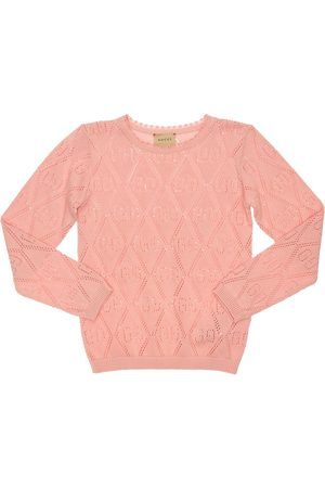 Gucci All Over Logo Knit Sweater
