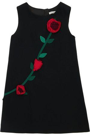 Dolce & Gabbana Meisjes Mouwloze jurken - Sleeveless A-line Dress W/ Roses
