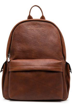 Brunello Cucinelli Heren Rugzakken - Logo zipped backpack