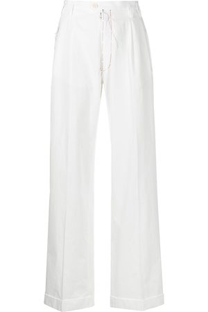 Maison Margiela High-waisted straight-leg trousers