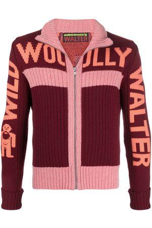 WALTER VAN BEIRENDONCK Wild Woolly Walter zipped cardigan