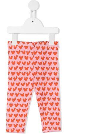 Stella McCartney Heart-print leggings