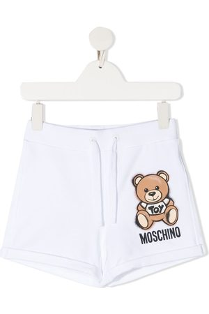 Moschino Teddy Bear-print track shorts