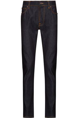 Nudie Jeans Heren Slim - Lean Dean Dry slim-leg jeans