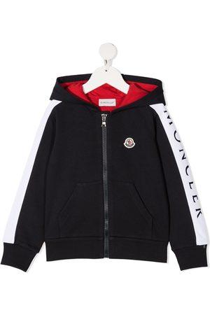 Moncler Colour-block zip hoodie