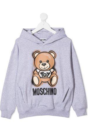 Moschino Toy Bear cotton hoodie