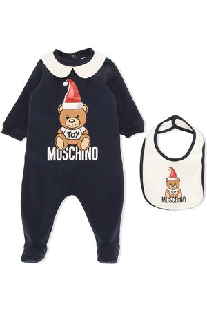 Moschino Teddy Bear Santa hat pajamas