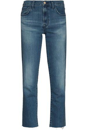 J Brand Adele straight-leg jeans