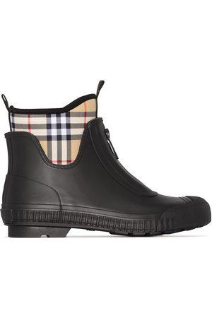 Burberry Dames Regenlaarzen - Vintage check neoprene and rubber rain boots